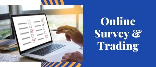 online survey and trading quick way to make money