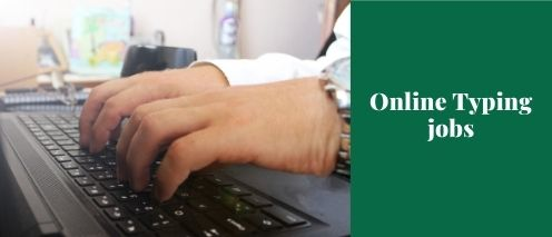 online typing jobs quick way to make money
