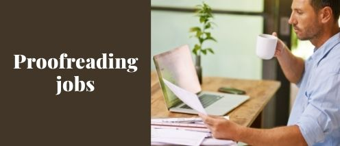 proofreading home based typing jobs