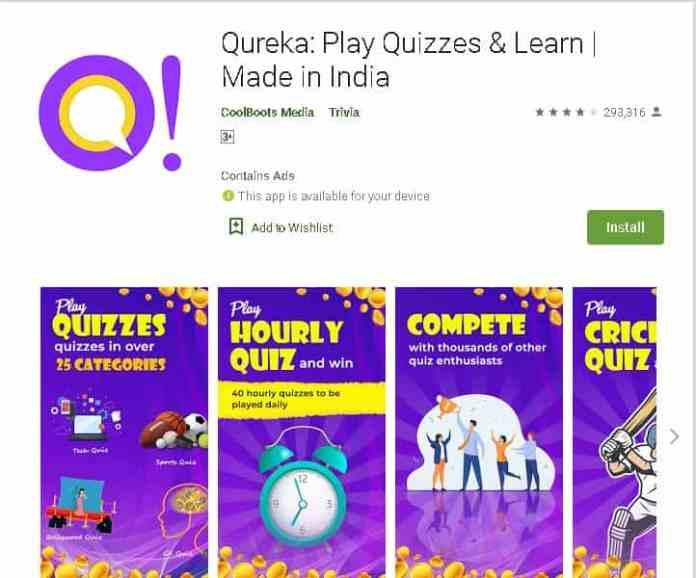 qureka Best money making apps