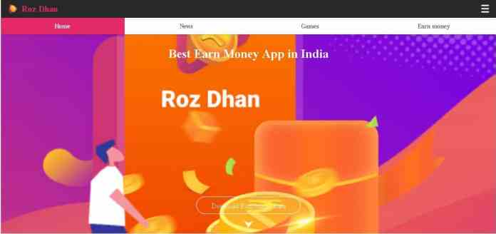 roz dhan Best money making apps