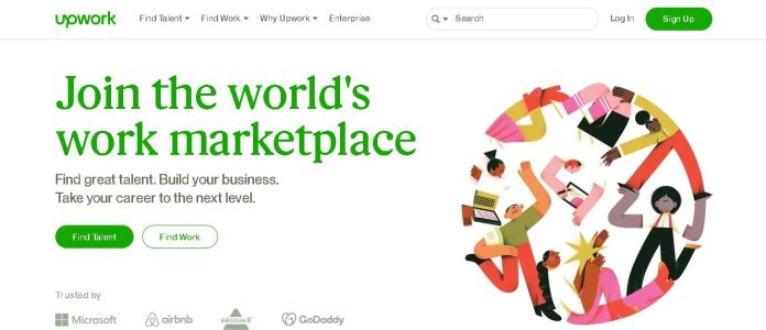 upwork online data entry work from home