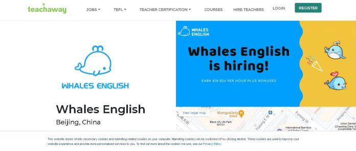 whales english online tutoring jobs