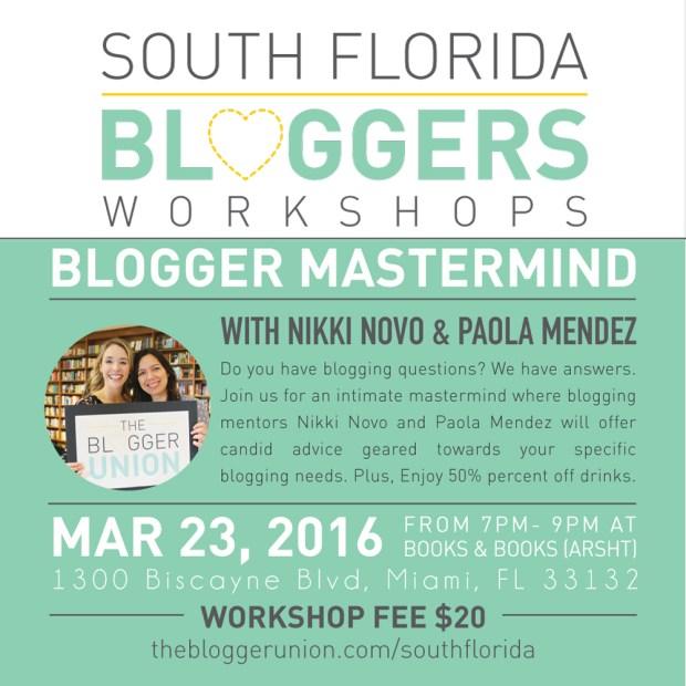 Blogger-Mastermind-Workshop