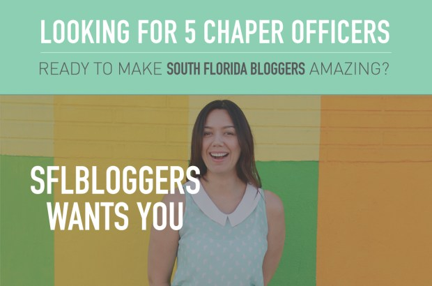 Call for Officers for South Florida Bloggers Chapter