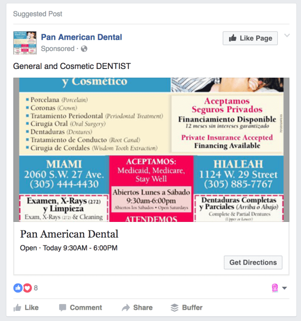 Facebook Ads Bad Image Example