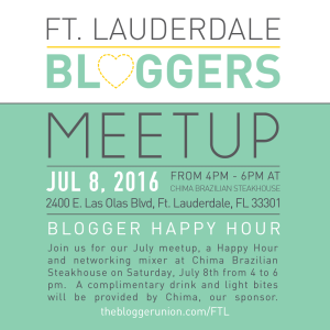 Ft Lauderdale Bloggers Meetup July