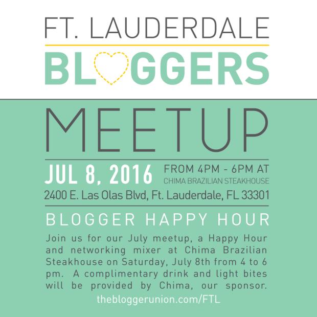 Ft Lauderdale Bloggers Meetup July