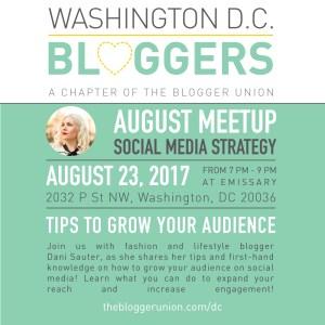 August DC Bloggers Meetup