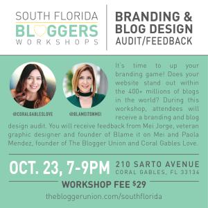 Brand and Blog Design Audit Feedback Workshop
