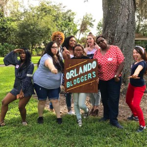 Orlando Bloggers Bloggersgiving Group Picture