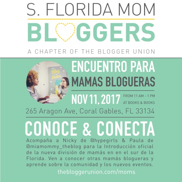 Miami Mom Bloggers Meetup