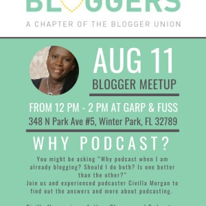 AUG 2018 MEETUP FLYER ORLANDO BLOGGERS