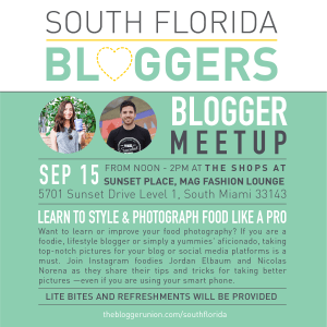 September South Florida Bloggers Meetup