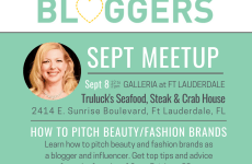 Ft Lauderdale Blogger Meetup: How to Pitch Fashion & Beauty Brands as a Blogger