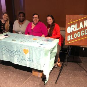 The Blogger Union Orlando Bloggers Chapter Officers at Florida Blog Con