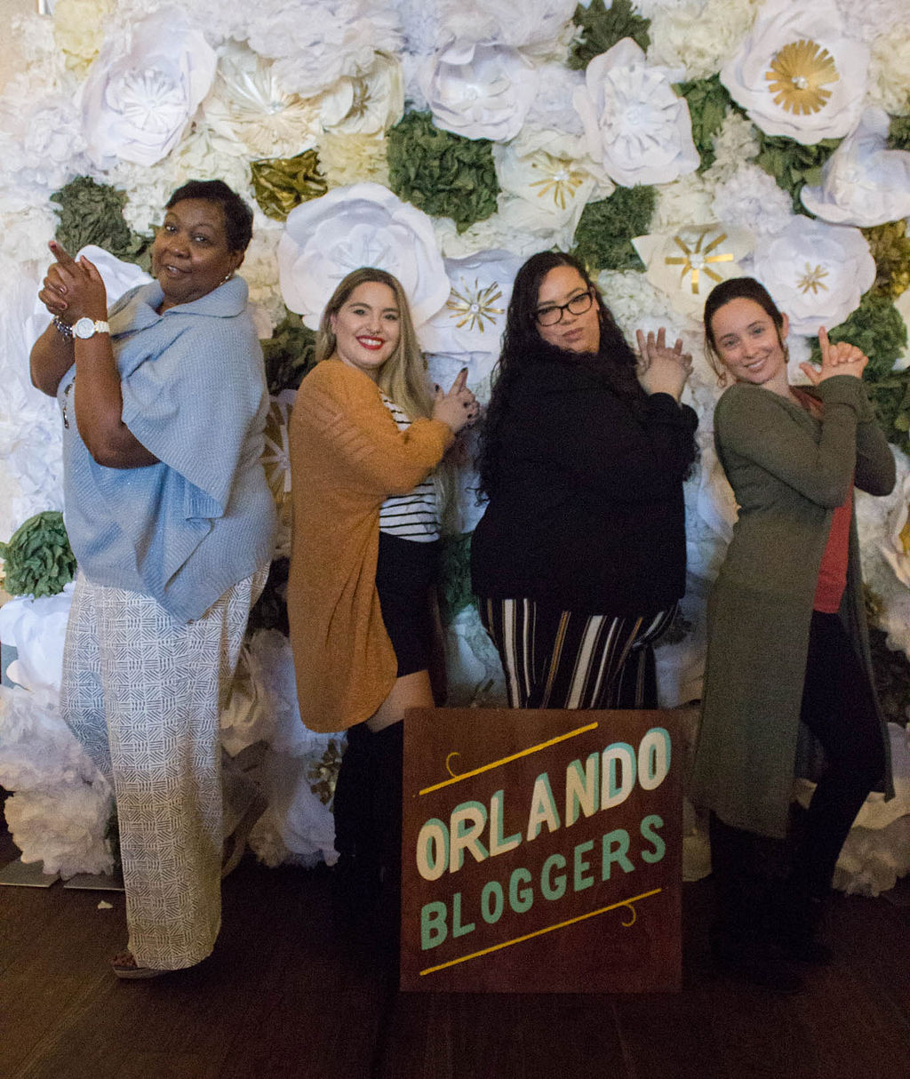 Orlando bloggers of the blogger union chapter officers