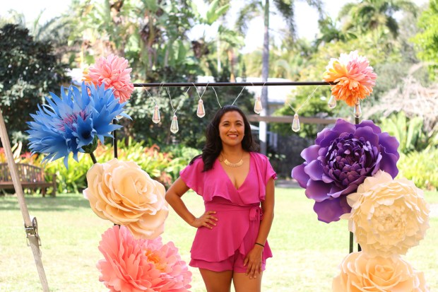 Top Miami Bloggers 2018 - South Florida Blogger Awards - Backdrop by Paper Blooms Forever
