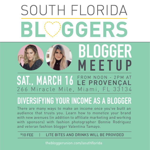 March South Florida Bloggers Meetup
