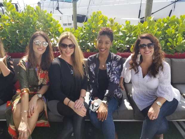 Ft Lauderdale Bloggers met to talk about travel blogging and working with hotels.