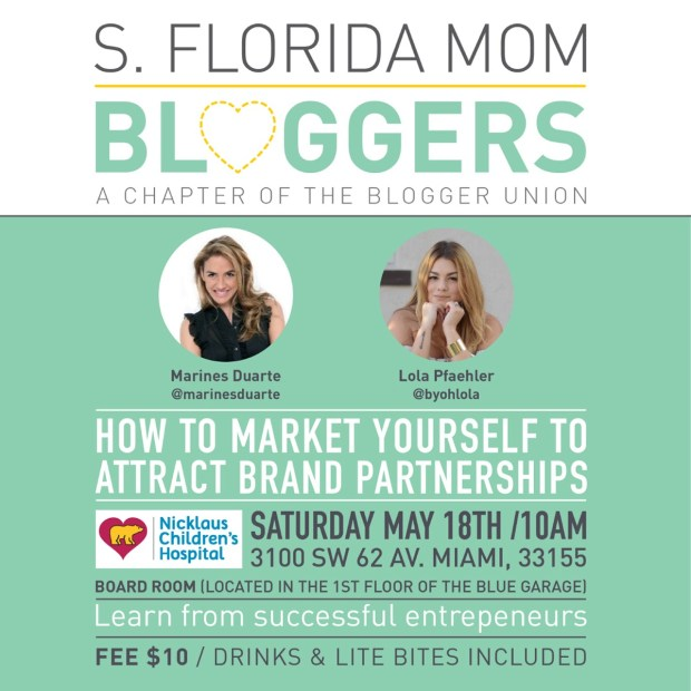 How to Market Yourself to Attract Brand Partnerships by South Florida Mom Bloggers