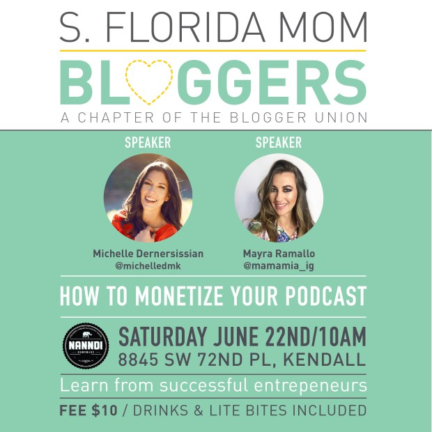 South Florida Mom Bloggers - June Meetup