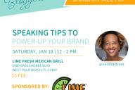 Ft Lauderdale Meetup on Speaking for Bloggers