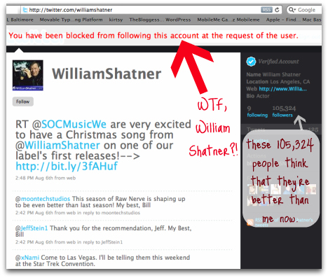 William Shatner is too good for you