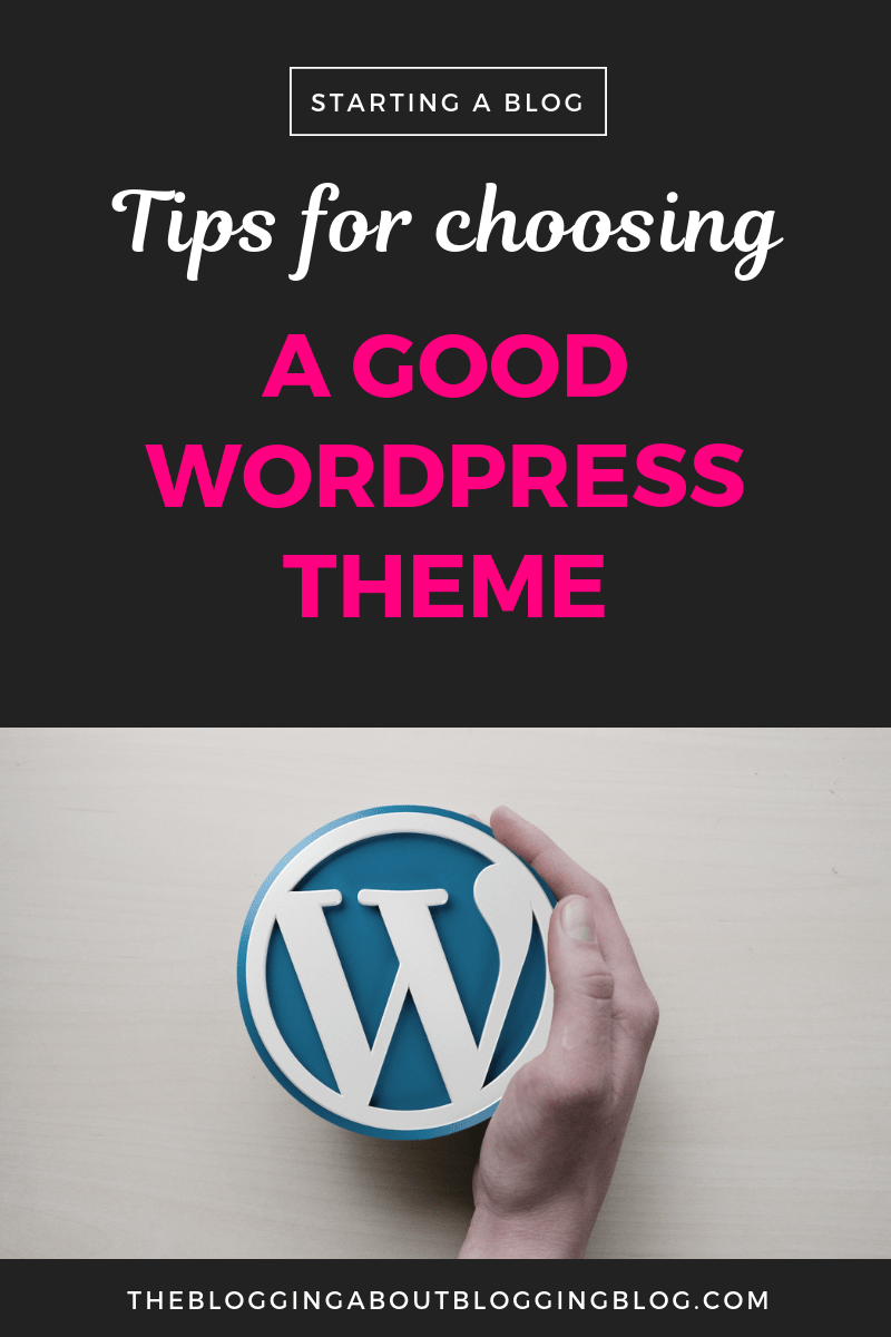 Feeling choice overload when it comes to WordPress templates? Here's how to choose. #blogging #startablog #bloggingtips #blogger