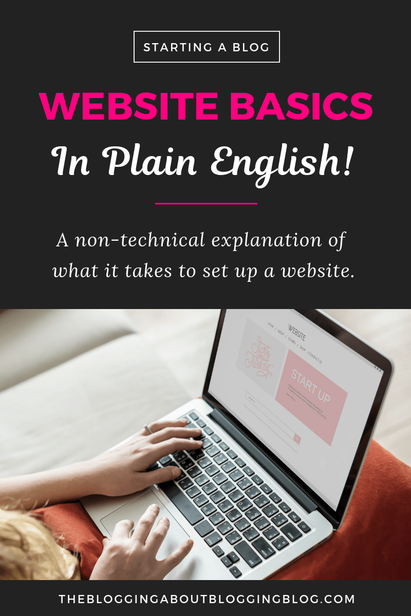 A simple explanation of how websites are built, from domain names to hosting to which platform to use.