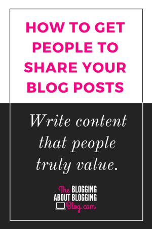 4 Simple Steps to a Shareable Blog Post | The Blogging About