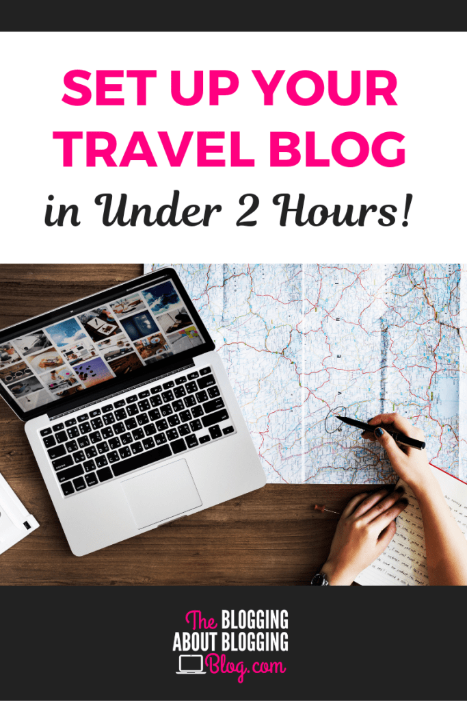 See how I set up a basic #travel #blog in just a little over an hour. #wanderlust #adventure