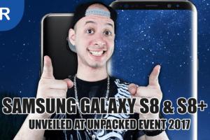 Samsung Galaxy S8 and S8+: Bigger, Better & Bixby-er