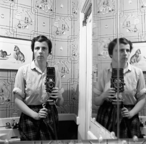 Finding Vivian Maier (Documentary) -Self Portrait