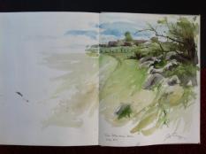 One of Gunnar's sketchbooks.