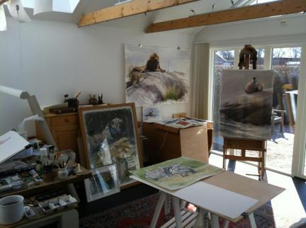 Gunnar Tryggmo studio