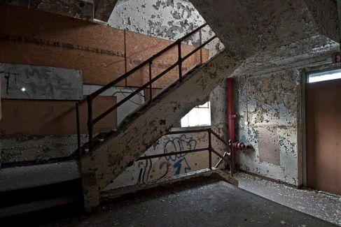 Stairs – J. R. Montgomery Company, Windsor Locks, Connecticut ©2014 Robert Marsala