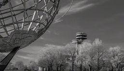 Worlds Fair – Infrared, Corona Park, Flushing Meadows, New York ©2014 Robert Marsala