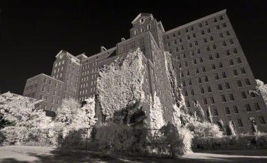 Kings Park Psychiatric Center – Infrared, Kings Park, New York ©2014 Robert Marsala