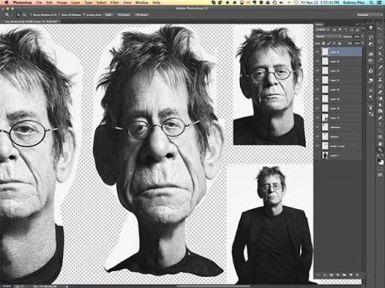 ∫ Lou Reed Work in Progress © Rodney Pike.