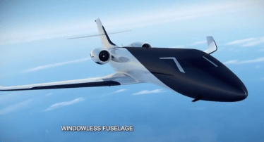 Windowless Fuselage