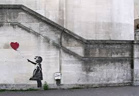 ∫ Banksy Balloon Girl - Always Hope (Courtesty Northern Lights MN)