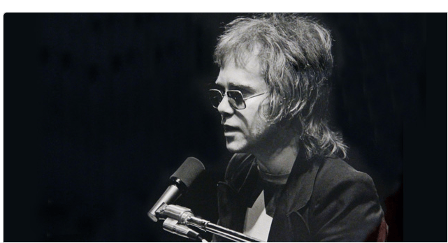 ∫ Amalie R. Rothschild, (1945-) Elton John at Fillmore East, April 8, 1971. (Photo Credit The Art Museum of South Texas Website)
