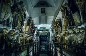 The Capuchin crypt (Catacombe dei cappuccini) in Palermo (Sicily, Italy)