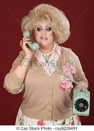 I couldn't find a High Pop Priestess Picture.  But the green telephone is worthy of royalty, don't ya think?