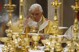 Living the vow of poverty, gold-plated Vatican-style.