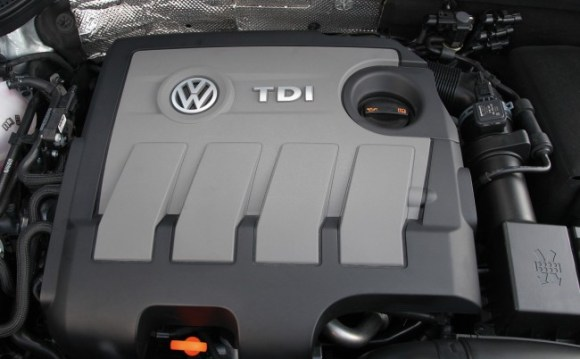 Volkswagen Beetle TDI engine