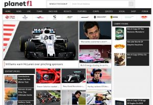Top F1 Blogs - PlanetF1