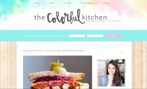 Top Vegan Food Blogs - The Colorful Kitchen