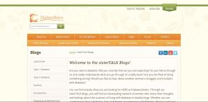 Top Diabetes Blogs - Diabetes Sisters